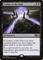 虚空の力線/Leyline of the Void(M20)【英語】