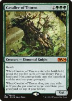 茨の騎兵/Cavalier of Thorns(M20)【英語】