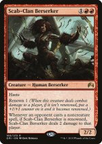 瘡蓋族の狂戦士/Scab-Clan Berserker(ORI)【英語】