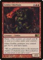 ゴブリンの酋長/Goblin Chieftain(M10)【英語】