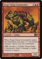 包囲攻撃の司令官/Siege-Gang Commander(M10)【英語】