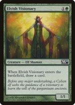 エルフの幻想家/Elvish Visionary(M10)【英語】