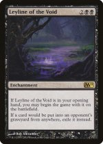 虚空の力線/Leyline of the Void(M11)【英語】