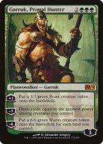 原初の狩人、ガラク/Garruk, Primal Hunter(M12)【英語】