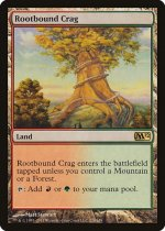 根縛りの岩山/Rootbound Crag(M12)【英語】