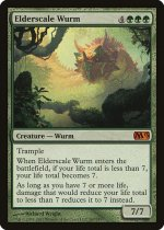 古鱗のワーム/Elderscale Wurm(M13)【英語】
