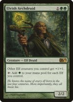 エルフの大ドルイド/Elvish Archdruid(M13)【英語】