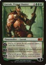 原初の狩人、ガラク/Garruk, Primal Hunter(M13)【英語】