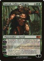 獣の統率者、ガラク/Garruk, Caller of Beasts(M14)【英語】