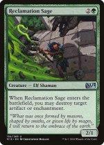 再利用の賢者/Reclamation Sage(M15)【英語】