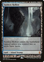窪み渓谷/Sunken Hollow(EXP)【英語】