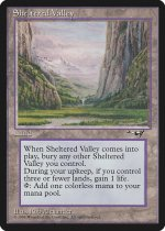 Sheltered Valley(ALL)【英語】