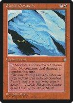 Glacial Crevasses(ICE)【英語】