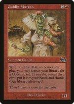 ゴブリンの女看守/Goblin Matron(USG)【日本語】