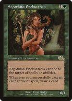 アルゴスの女魔術師/Argothian Enchantress(USG)【日本語】