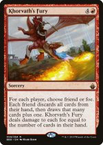 コルバスの憤怒/Khorvath's Fury(BBD)【英語】