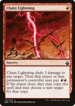 稲妻の連鎖/Chain Lightning(BBD)【英語】