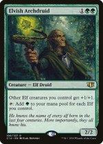 エルフの大ドルイド/Elvish Archdruid(C14)【英語】