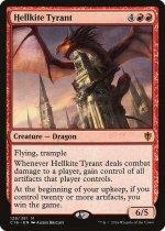ヘルカイトの暴君/Hellkite Tyrant(C16)【英語】