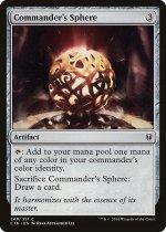 統率者の宝球/Commander's Sphere(C16)【英語】
