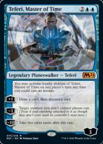 時の支配者、テフェリー/Teferi, Master of Time(M21)【英語】(075)