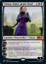 死者を目覚めさせる者、リリアナ/Liliana, Waker of the Dead(M21)【英語】