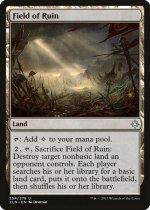 廃墟の地/Field of Ruin(XLN)【英語】