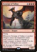 ヴァルカスの災い魔/Scourge of Valkas(IMA)【英語】