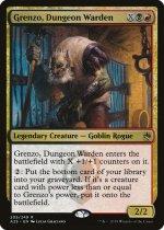 地下牢の管理人、グレンゾ/Grenzo, Dungeon Warden(A25)【英語】