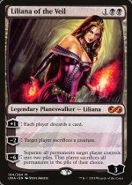 ヴェールのリリアナ/Liliana of the Veil(UMA)【英語】