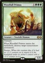 森滅ぼしの最長老/Woodfall Primus(UMA)【英語】