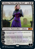 死者を目覚めさせる者、リリアナ/Liliana, Waker of the Dead(M21)【英語FOIL】