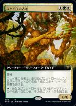 フェイ庄の古老/Faeburrow Elder(ELD)【日本語FOIL】(拡張アート)