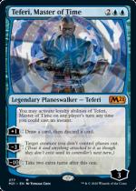 時の支配者、テフェリー/Teferi, Master of Time(M21)【英語】(277)