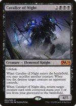 夜の騎兵/Cavalier of Night(M20)【英語 FOIL】