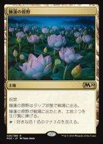 睡蓮の原野/Lotus Field(M20)【日本語 FOIL】