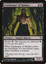 マラキールの門番/Gatekeeper of Malakir(PLIST)【英語】