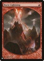 噴出の稲妻/Burst Lightning(PLIST)【英語】