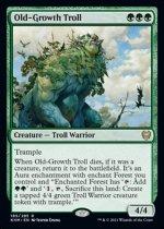 老樹林のトロール/Old-Growth Troll(KHM)【英語】