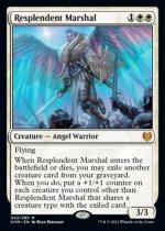 輝かしい司令官/Resplendent Marshal(KHM)【英語】