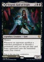 恐怖の神、ターグリッド/Tergrid, God of Fright // Tergrid's Lantern(KHM)【英語】