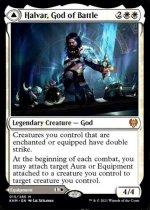 戦闘の神、ハルヴァール/Halvar, God of Battle // Sword of the Realms(KHM)【英語FOIL】