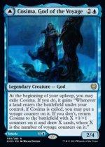 航海の神、コシマ/Cosima, God of the Voyage // The Omenkeel(KHM)【英語FOIL】
