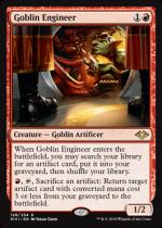 ゴブリンの技師/Goblin Engineer(MH1) 【英語】