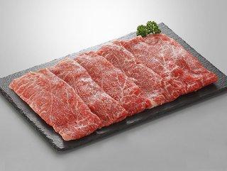 【伊予牛絹の味】黒毛和牛モモ_すき焼き用_600g(300g×2)