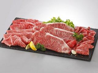 【伊予牛絹の味】黒毛和牛セットKC_1600g(肩ロース/サーロイン/リブロース/モモ*各400g)