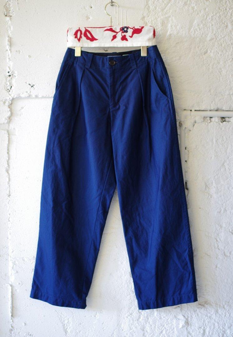 BLUE BLUE JAPAN 700077185 インディゴコットン コウミツドサテンワークパンツ ウイメンズ[INDIGO]