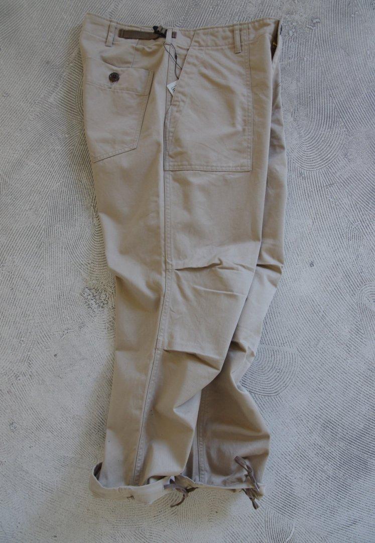 CORONA FP005 AGGRESSOR SLACKS 21-01[COTTON CHINO CLOTH/KHAKI] FATIGUE SLACKS