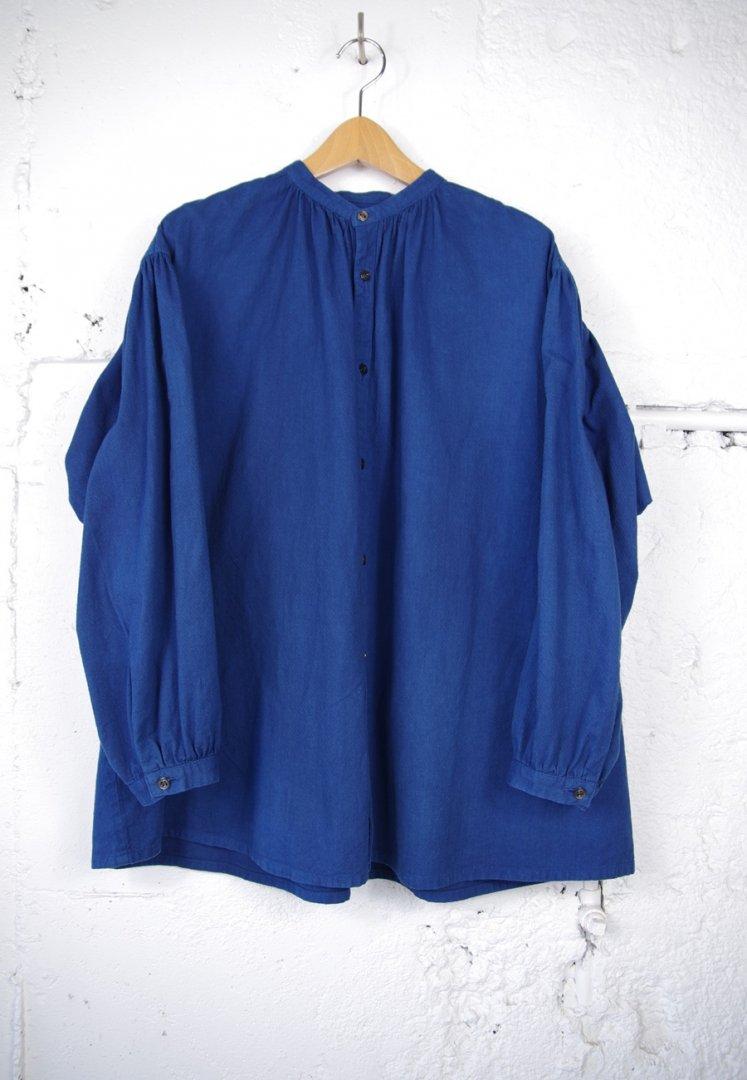 BLUE BLUE JAPAN 700086852 アヤドビー ホンアイ ギャザーシャツ ウイメンズ [ONE]
