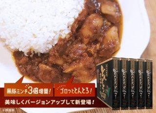 黒豚とんとろカレーセット(中辛)